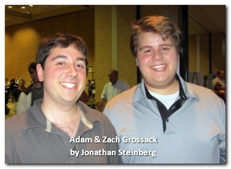 Adam (22) & Zach Grossack (17)  won the NABC Fast Pairs