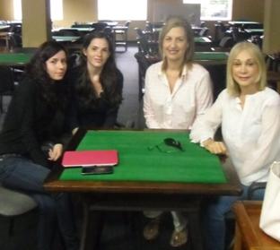 Adriana Suárez, Karla de Jesús, Nina Tache y Ivy Smith