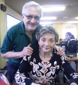 Carlos Goldstein y Elizabeth Rabicew