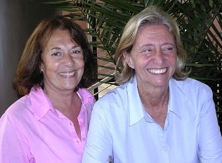 Charo Garateguy y Malena Iacapraro