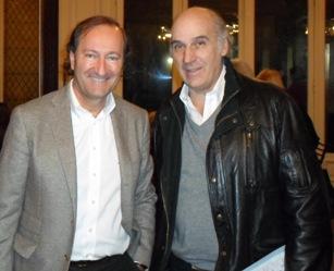 Juan Carlos Ventin y Ernesto Muzzio