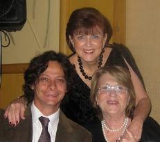 Diego Brenner, Perla Sultan y Nina Benzaquen