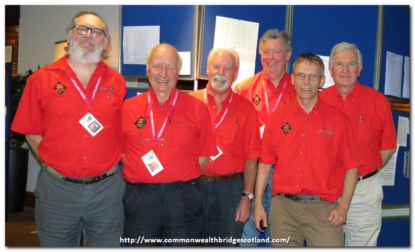 Wales: Gary Jones, John Salisbury, Mike Tedd, Patrick Jourdain, Tim Rees, Tony Ratcliff