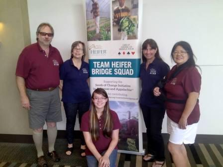 Team Heifer Internacional