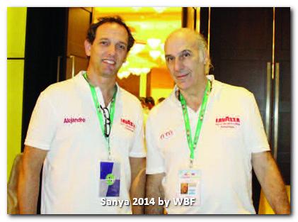 Alejandro Bianchedi and Ernesto Muzzio