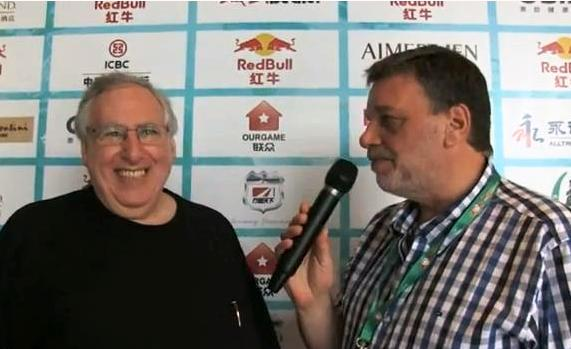 Eric kokish con Fernando Lema