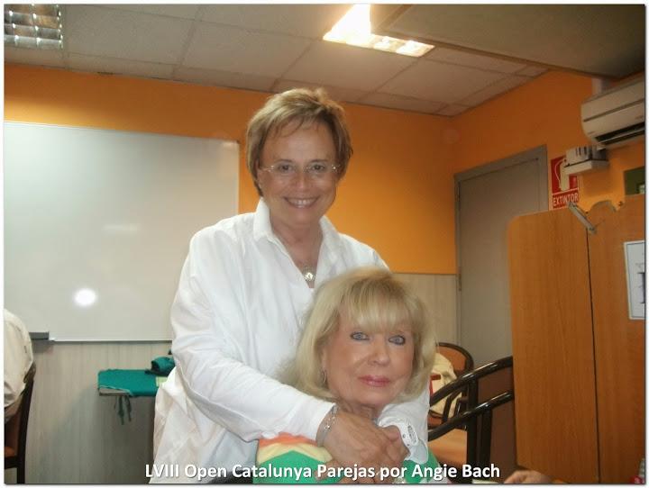 Montserrat Mestres y Paquita Claret