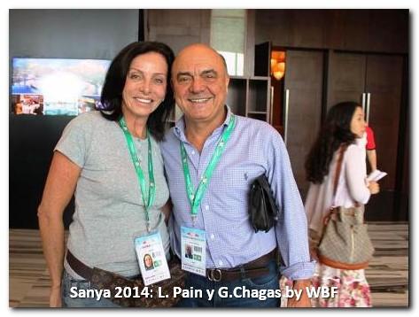 Sanya 2014 Pain-Chagas