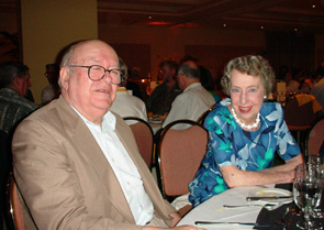 Tim Seres and Mary McMahon at the 2000 Gold Coast Congress