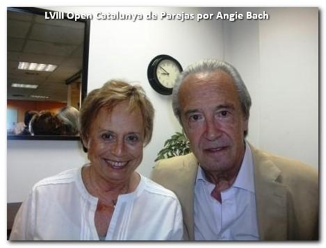 Montserrat Mestres y el Sr. Monguio