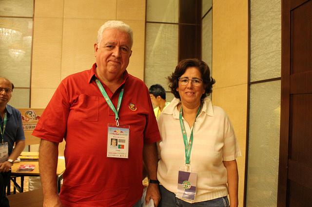 Maria João Lara y Jose Capucho