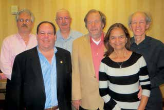 Senior KO champions: Eric Rodwell, Billy Miller, Lew Stansby, Jeff Meckstroth, captain Vinita Gupta and Bart Bramley