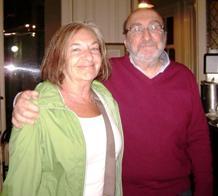 Irene Elkin y Adolfo Revale
