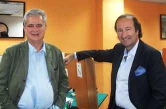 Carlos Fernandez y Juan Carlos Ventin