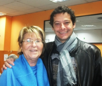 Nina Anidjar y Diego Brenner