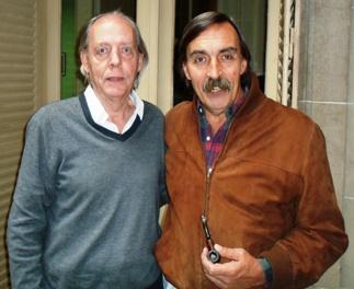 Walter Fornasari y Marcelo Villegas