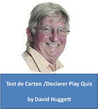 David Huggett, test de carteo