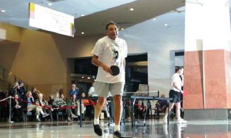 Eddie Kantar ping pong