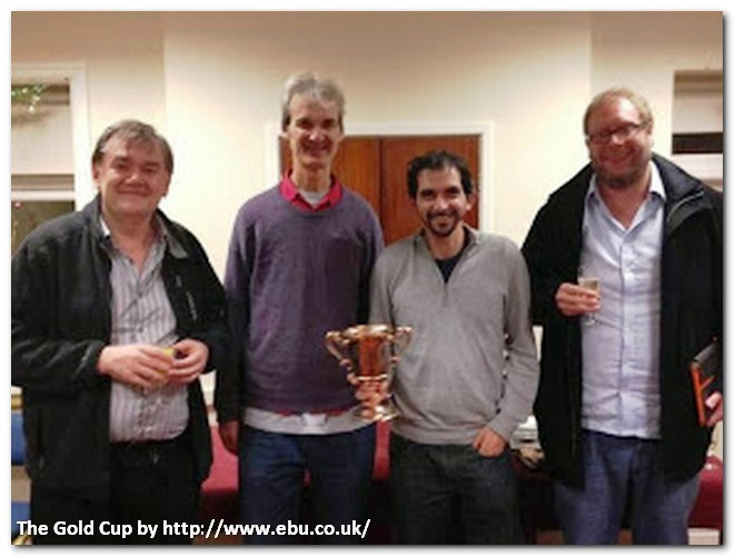 Alexander Allfrey, Gold Cup winners: David Bakhshi, Tony Forrester, David Gold and Andrew Robson