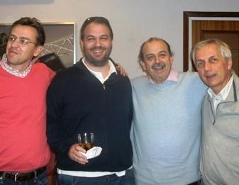 Jordi Sabate - Gonzalo y Federico Goded y Herve Vincent