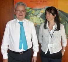 Carlos Fernandez y Angie Bach