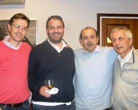 Jordi Sabaté, Gonzalo y Federico Goded Herve Vincent