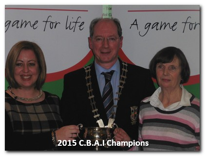 Jackson Cup Winners 2015: Deirdre Tuckey and Helen Sheridan