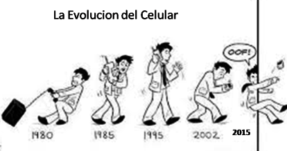 evolucion del celular