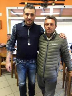 Mustafa Cem tokay and Antonio Sementa
