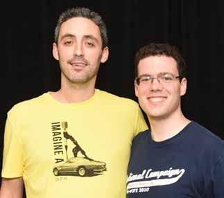 Blake Schwartzbach and Adam Gann