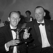 Hans Kreijns y Bob Slavenburg; winners of the World Pairs Championships (1966)
