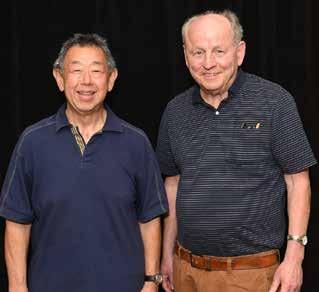 Bruce Noda and Mark Ralph