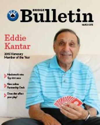 Eddie Kantar bulletin