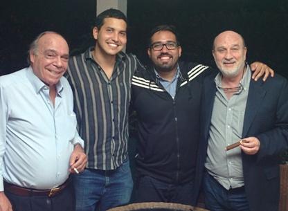 Paolo Pasquini, Ruben Cabrera, Alexander Milano y Jose Valdes