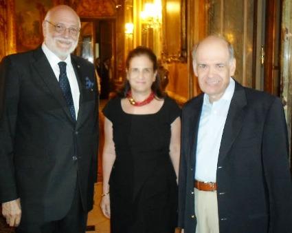 Embajadores de Brasil Junto a G. Rona