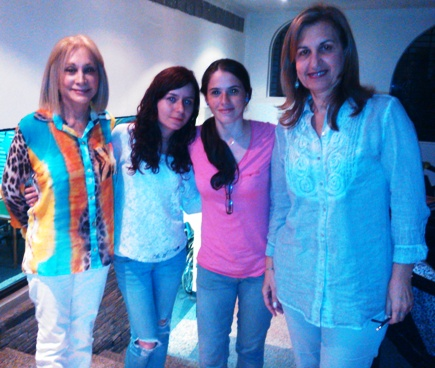 Ivy Smith, Adriana Suarez, Karla de Jesus y Nina Tache
