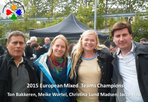 Ton Bakkeren, Meike Wortel, Christina Lund Madsen, Jacco Hop