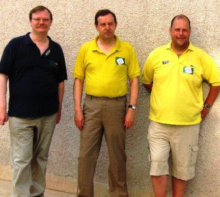 Herman de Wael, Brian Senior and Micke Melander