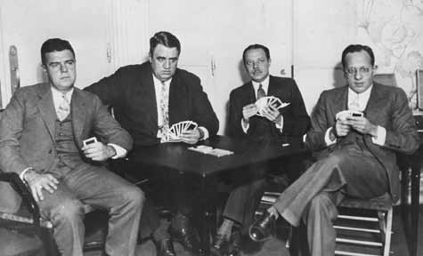 spingold 1931 Oswald Jacoby, P. Hal Sims, Willard Karn y David Burnstine