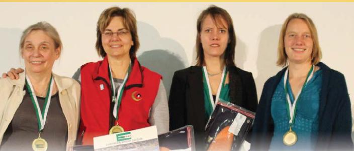 Team Baker - Karen McCallum, Lynn Baker, Marion Michielsen, Meike Wortel