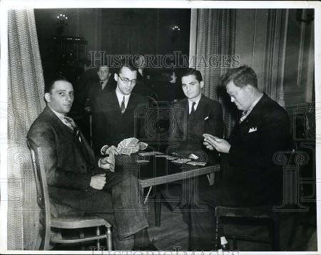 1933 Foto de prensa de Johnny Rau, Md Maier, Jack Dreyfus, W McKenna