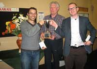 Anthony Bates & Troy van de l'Isle, winners of the pairs at the Glenrothes Congress