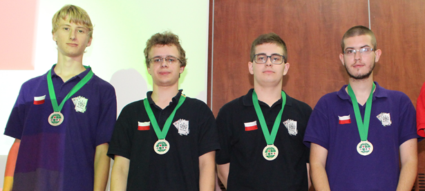 Lukasz Trendak, Stanislaw Maczka, Krystian Baczek, Piotr Jasinski