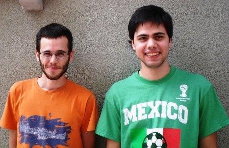 Giuseppe Delle Cave y Rodrigo Garcia da Rosa