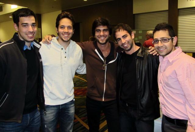 Dror Padon, Alon Birman, Bar Tarnovski, Gilad Ofir, Eliran Argelazi (2012 NABC)