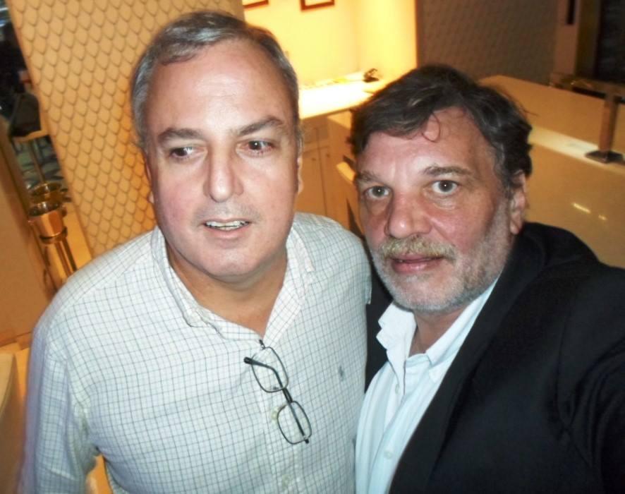 Miguel Villas-Boas y Fernando Lema