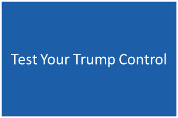test your Trump Control