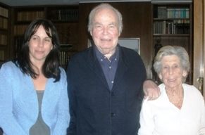 Angie, Evelio y Sra.