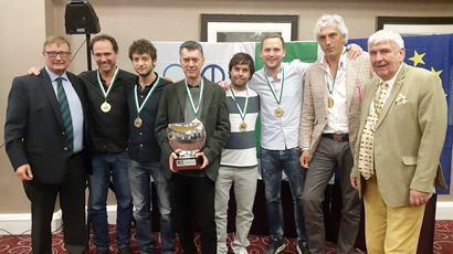 CC Allegra Alejandro Bianchedi, Dennis Bilde, Norberto Bocchi, Massimiliano Di Franco, Giorgio Duboin and Agustin Madala.