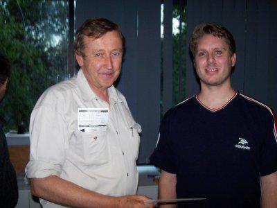 Paul Lavings and Keiran Dyke